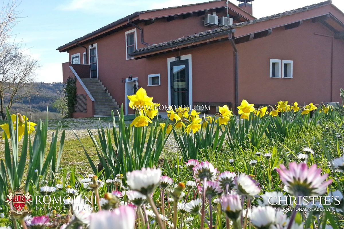 ORGANIC FARM FOR SALE MAGLIANO SABINA LAZIO