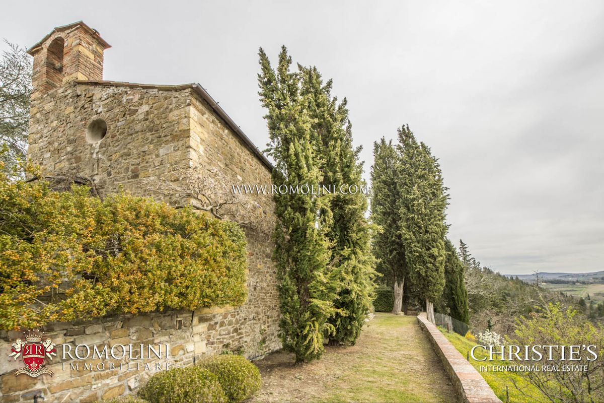 FARMHOUSE VINEYARD OLIVE GROVE SALE GREVE IN CHIANTI
