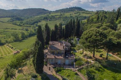 PROPERTY FOR SALE IN SAN GIMIGNANO, SIENA, TUSCANY, VINEYARDS FOR SALE