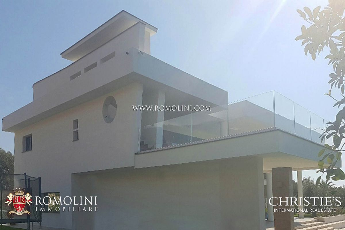 NEWLY BUILT VILLA WITH SEA VIEW FOR SALE IN DIAMANTE, CALABRIA