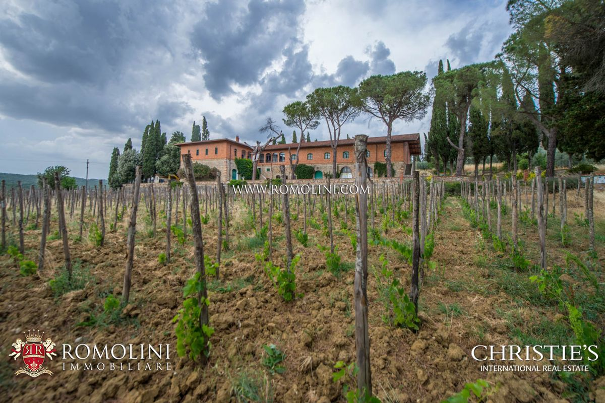 WINE ESTATE FOR SALE IN VALDARNO SUPERIORE, TUSCANY, CHIANTI, AREZZO, CELLAR