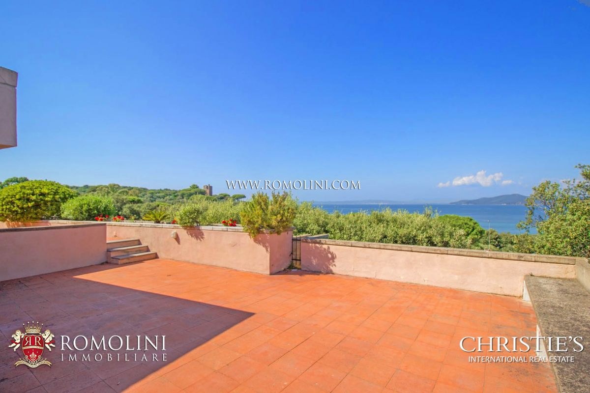 MODERN SEA VIEW VILLA FOR SALE IN PUNTA ALA, TUSCANY