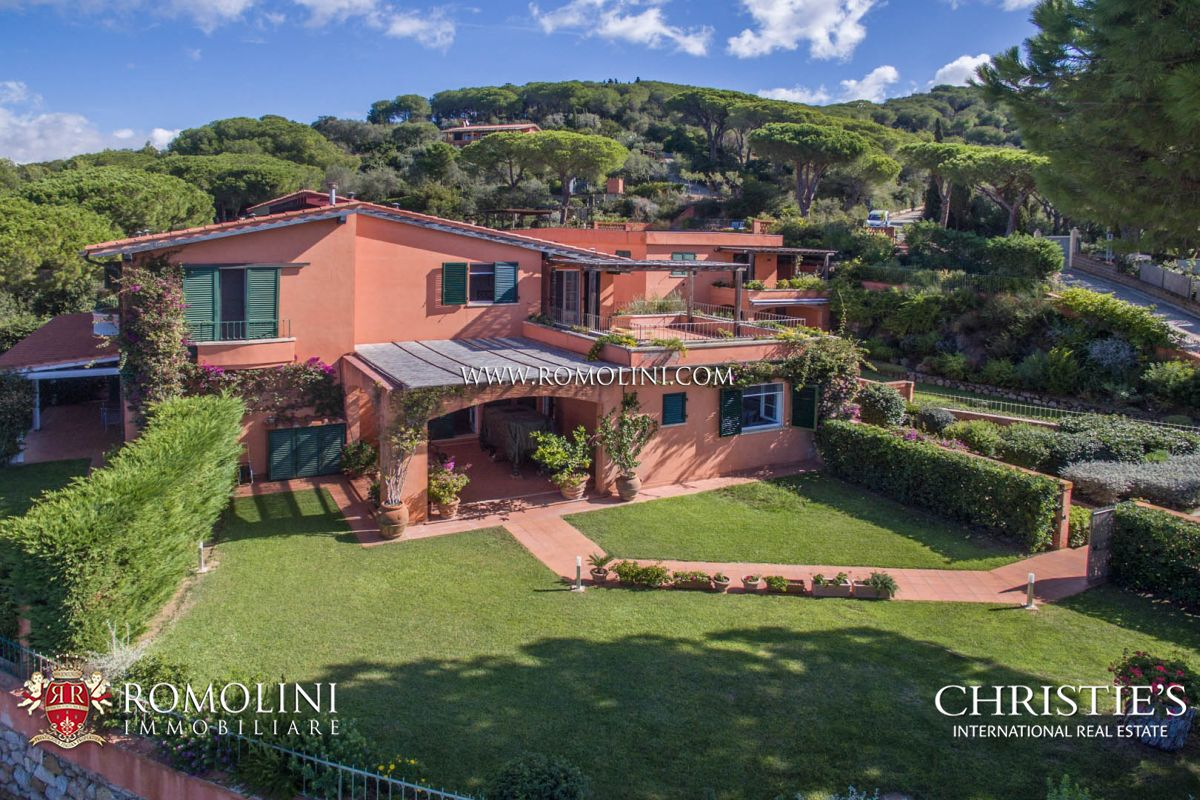 CAPOLIVERI SEAFRONT VILLA FOR SALE, ELBA
