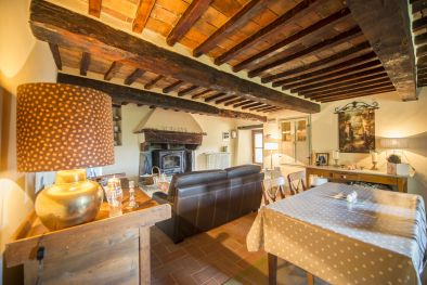 SECTION OF AN OLD STONE FARMHOUSE FOR SALE TUSCANY