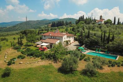 FINELY RESTORED VILLA FOR SALE ON THE FLORENTINE HILLS, TUSCANY | Romolini - Christie's