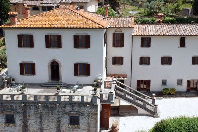 MANOR VILLA WITH VIEW OVER THE HISTORIC CENTRE FOR SALE, AREZZO | Romolini - Christie's