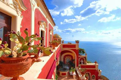 AMALFI COAST: POSITANO LUXURY VILLA FOR RENT.