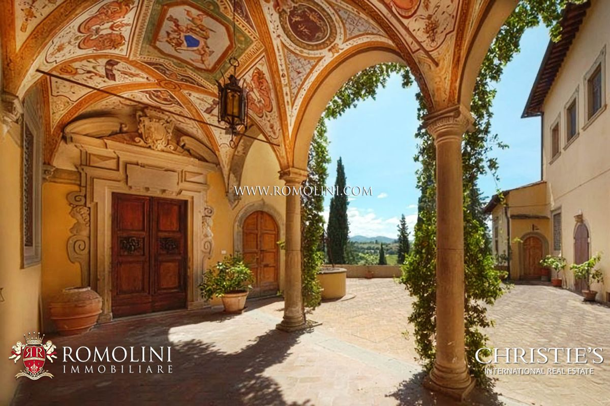 MEDIEVAL CASTLE FOR SALE IN FLORENCE