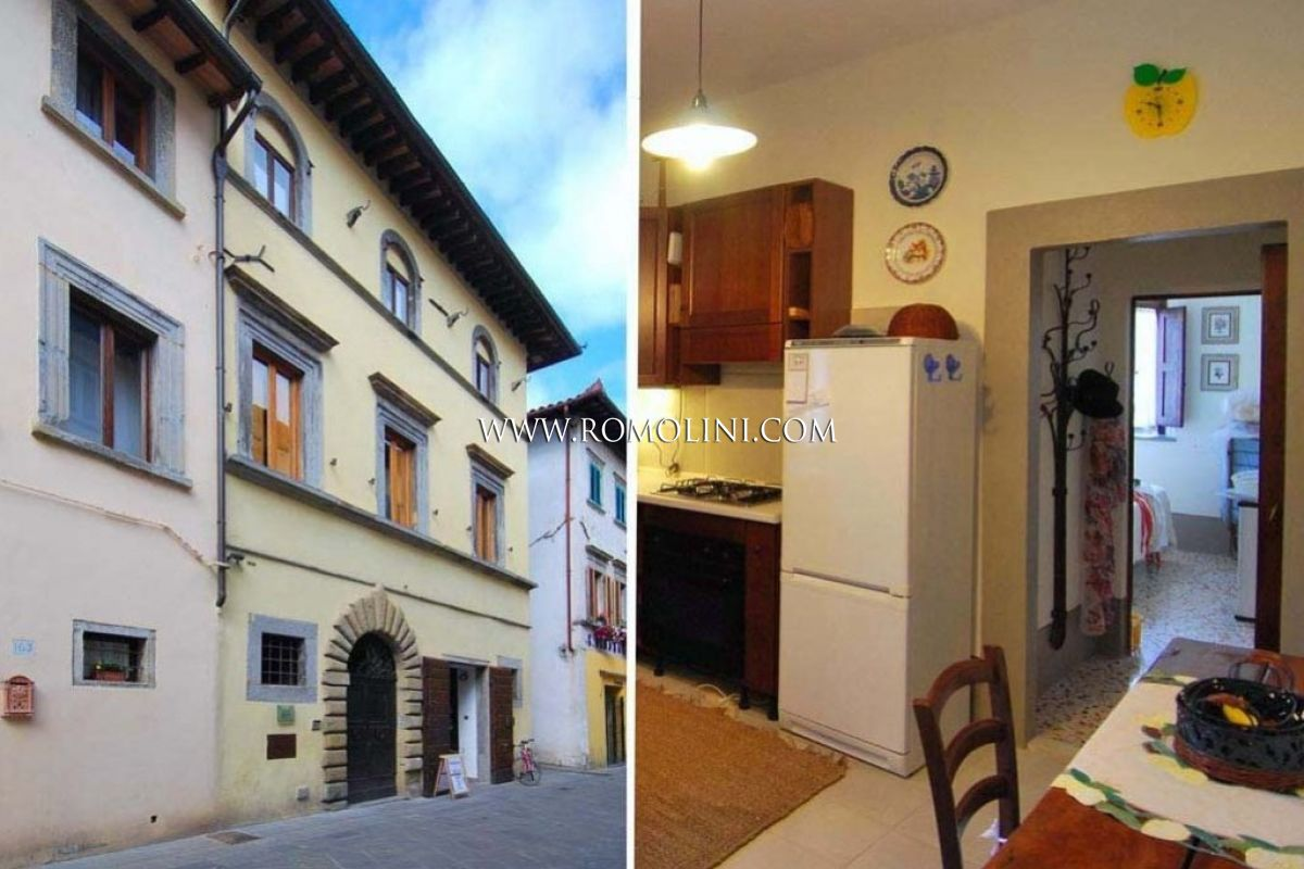 APARTMENT ON THE MAIN STREET OF SANSEPOLCRO FOR SALE