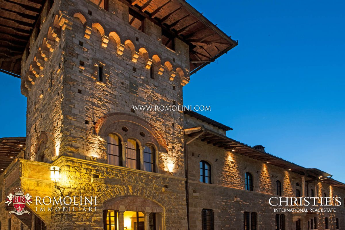 LUXURY B&B FOR SALE IN SAN GIMIGNANO, VAL D'ELSA