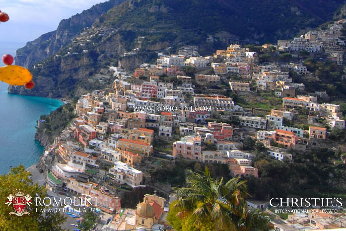 POSITANO: AMALFI COAST VILLA FOR SALE