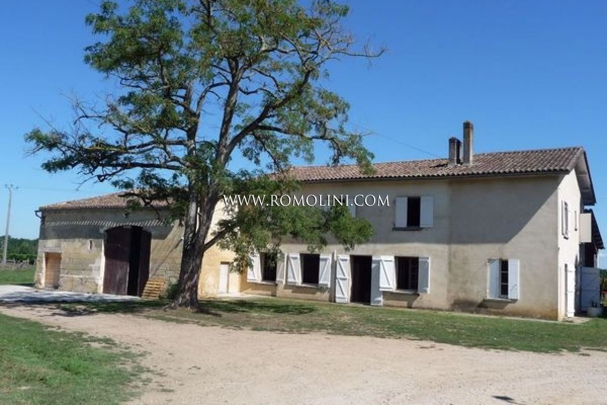 Bordeaux, France: Wine estate for sale