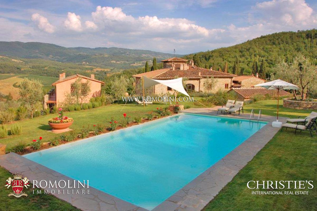 Wine estate for sale in Chianti, Florence, Tuscany
