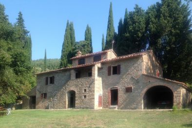 FARMHOUSE TO BE RESTORED FOR SALE IN SANSEPOLCRO