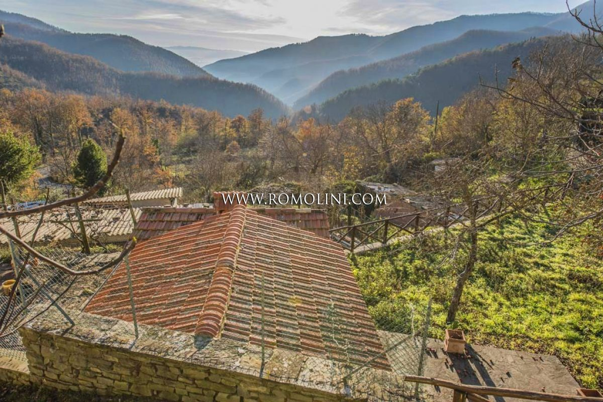 HOUSE WITH ANNEX AND GARDEN FOR SALE IN SANSEPOLCRO, TUSCANY