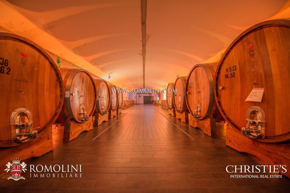 TUSCANY: STATE OF THE ART WINERY WITH MODERN WINE CELLAR FOR SALE IN MAREMMA