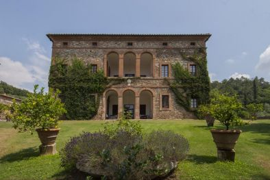 TUSCAN ESTATE WITH MANOR VILLA, 10 HA OF LAND, VINEYARDS,OLIVE GROVE FOR SALE IN ITALY, TUSCANY, SIENA - Sangiovese, Cabernet Sauvignon, Merlot, Syrah