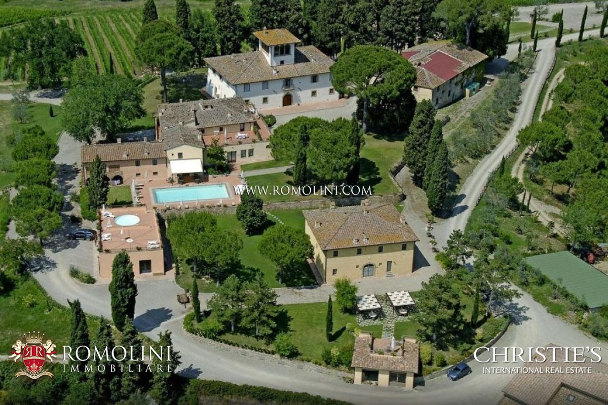 WINE ESTATE (167 Hectares), WINERY, VINEYARDS FOR SALE IN CHIANTI, FLORENCE