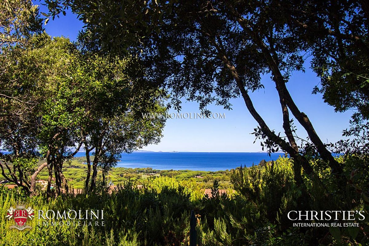 Sea view villa for sale in Punta Ala, Tuscany