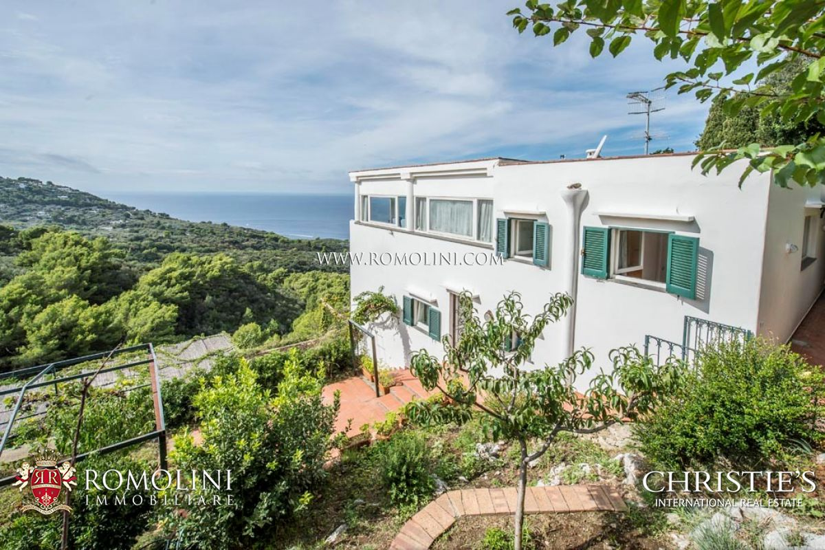 Villa with pool seaview for sale Anacapri