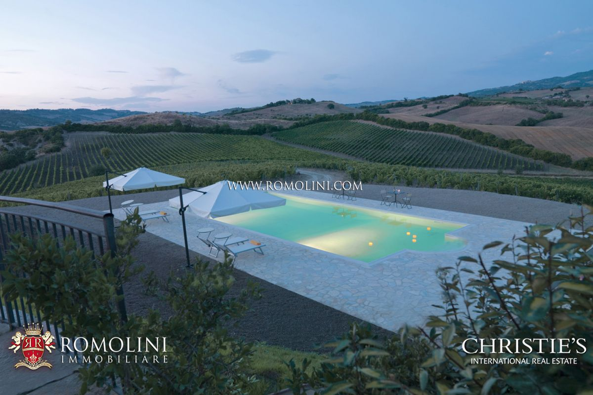 Luxury Winery Business for Sale Tuscany Montecucco