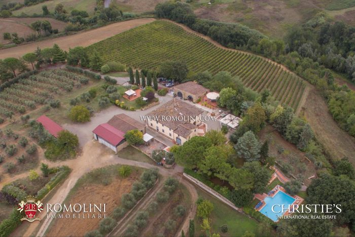 ORGANIC WINE ESTATE FOR SALE IN CHIANTI CLASSICO,M TUSCANY