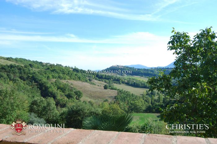 FARMHOUSE WITH VIEW FOR SALE IN MONTONE, UMBRIA