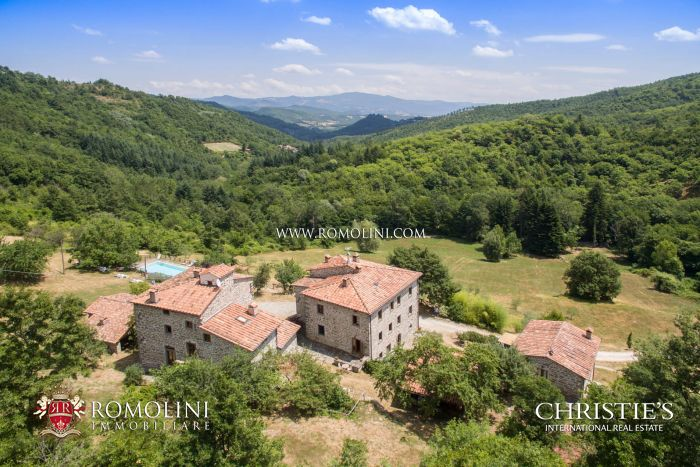 ORGANIC AGRITURISMO FOR SALE TUSCANY, CAPRESE MICHELANGELO