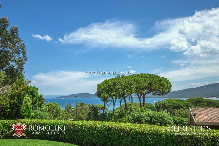 SEA VIEW VILLA FOR SALE PUNTA ALA