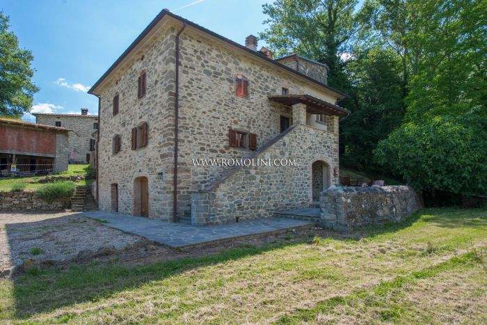 CAPRESE MICHELANGELO: RESTORED ANCIENT COUNTRY HOUSE FOR SALE