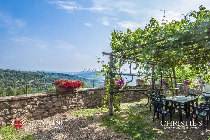 CASTLE FOR SALE IN TUSCANY NEAR THE SEA, SIENA