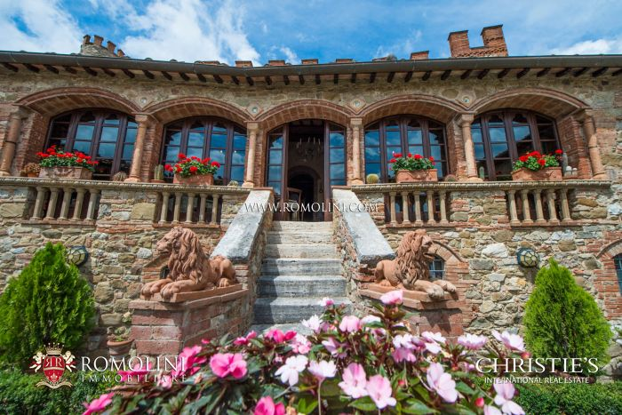 ITALIAN CASTLE FOR SALE, CHIANTI WINE AREA