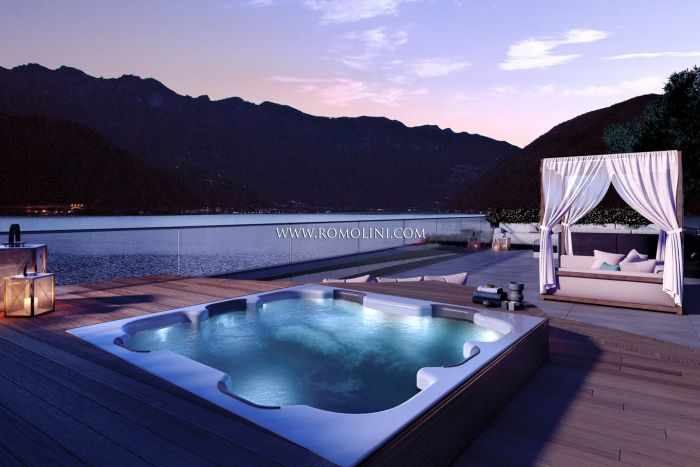 LUGANO, TICINO: LAKE VIEW LUXURY PENTHOUSE