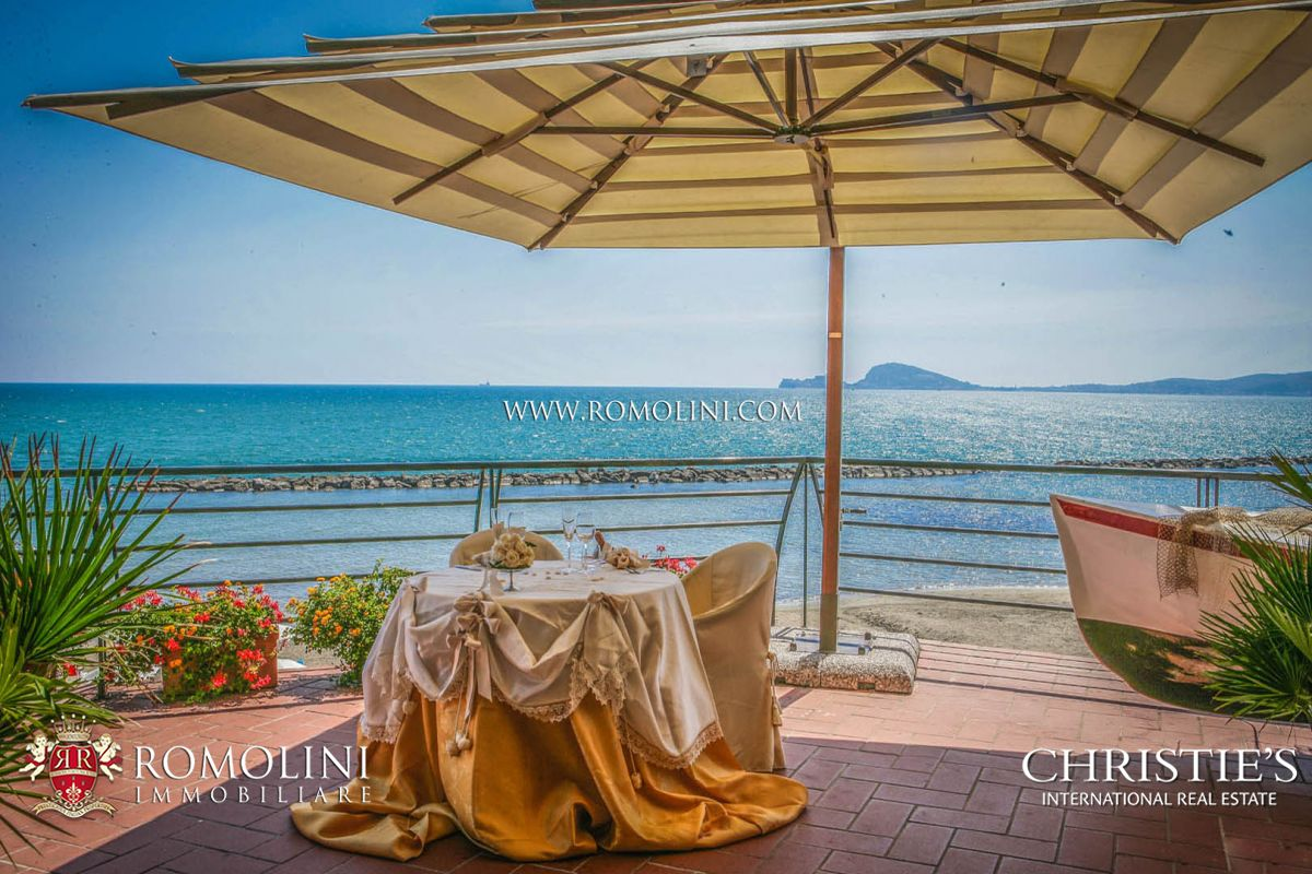 54-BEDROOM WATERFRONT HOTEL FOR SALE, INVESTMENT OPPORTUNITY IN ITALY, GULF OF GAETA