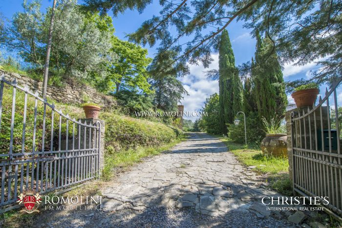 RUSTIC COUNTRY HOUSE FOR SALE IN LORO CIUFFENNA, TUSCANY