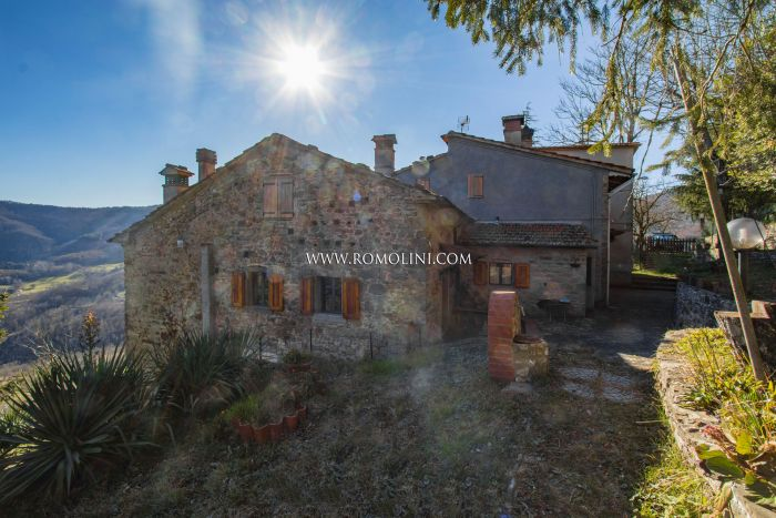 RUSTIC PROPERTY FOR SALE IN PIEVE SANTO STEFANO, TUSCANY