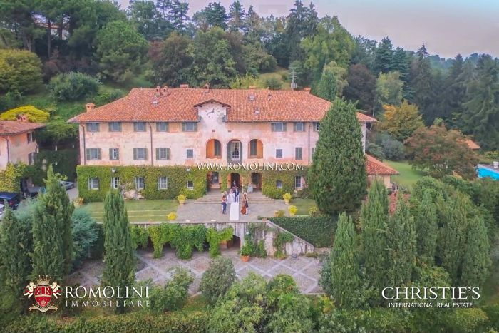 LUXURY VILLA FOR SALE IN BIELLA, PIEDMONT
