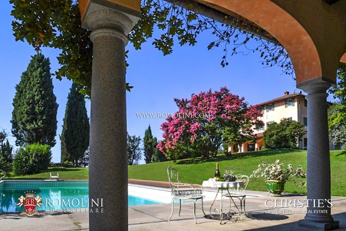 HISTORIC LUXURY VILLA FOR SALE IN BIELLA, PIEDMONT