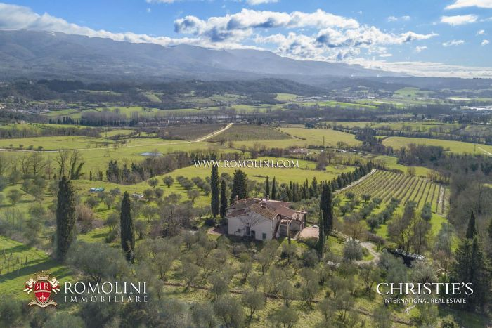 SMALL ESTATE FOR SALE NOT FAR FROM FLORENCE, TUSCANY
