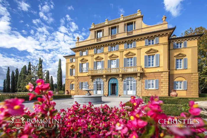 VILLA FATTI - PERIOD VILLA FOR SALE IN SANSEPOLCRO, TUSCANY