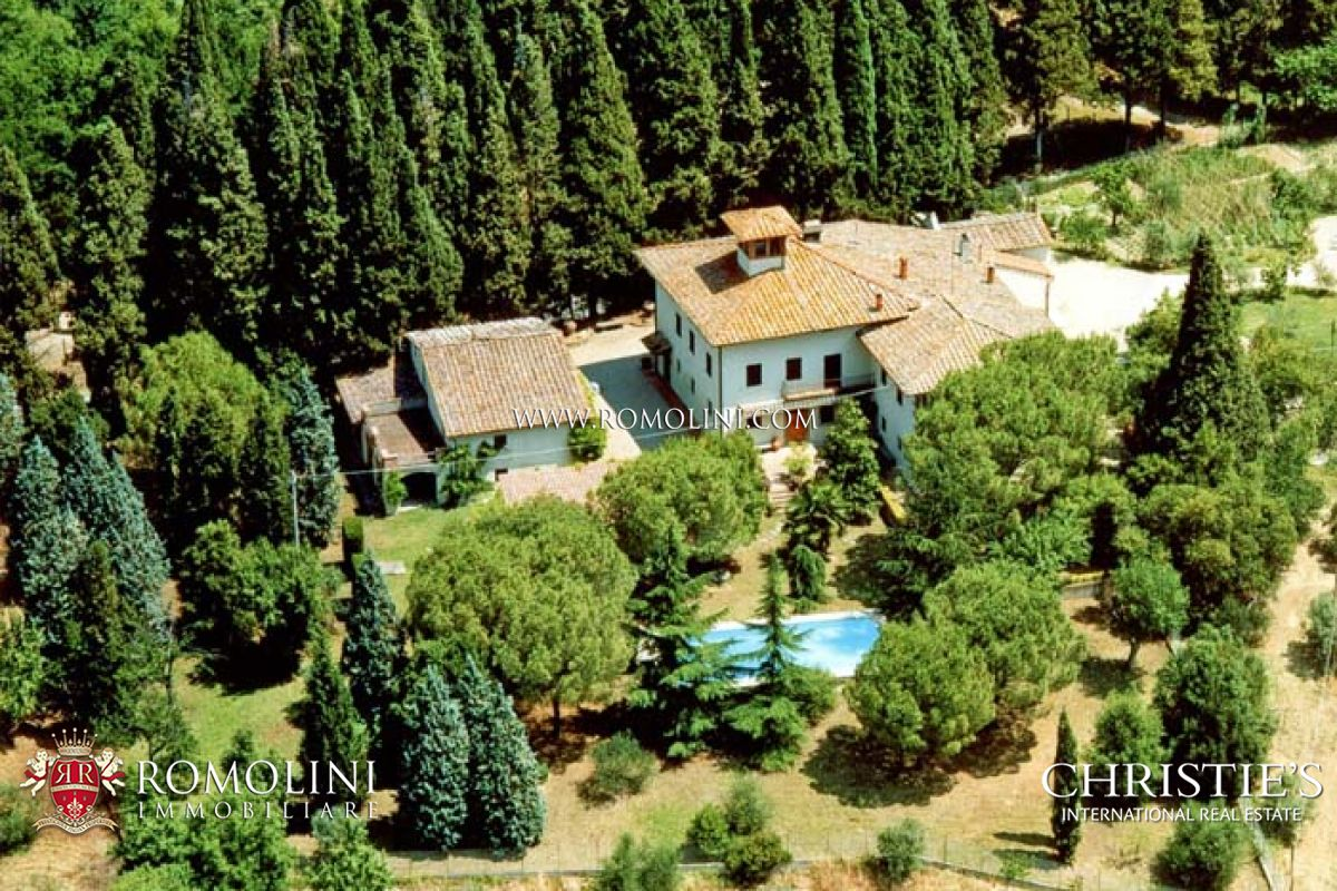 CHIANTI WINE ESTATE, OLIVE OIL MILL FOR SALE IN TUSCANY