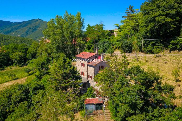RUSTIC FARMHOUSE WITH GARDEN FOR SALE IN PIEVE SANTO STEFANO, TUSCANY