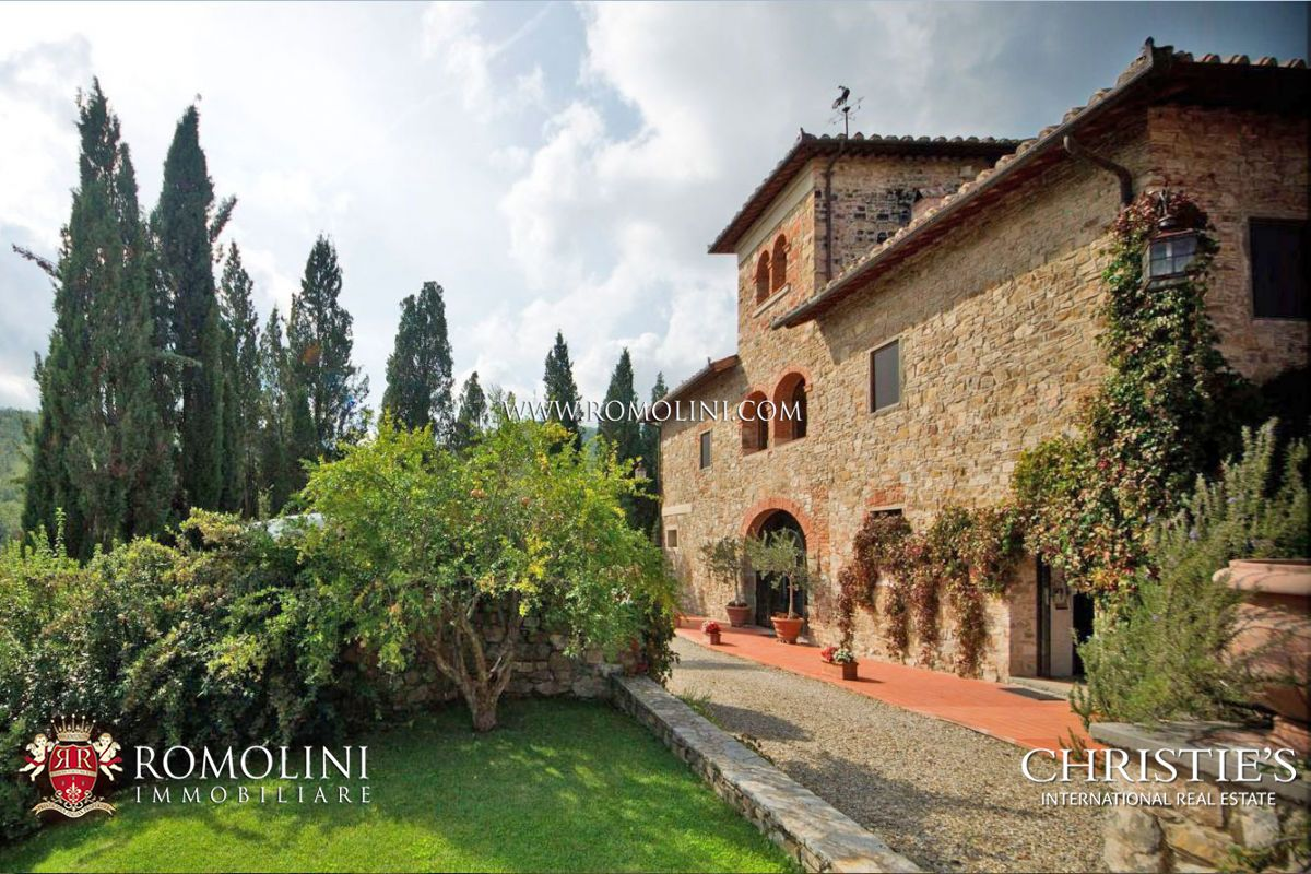 VINEYARD CHIANTI ESTATE FOR SALE IN FLORENCE TUSCANY