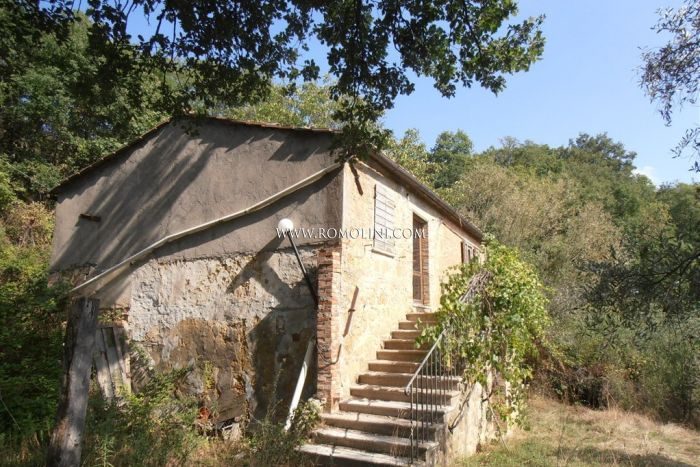 FARMHOUSE TO BE RESTORED FOR SALE PIENZA TUSCANY