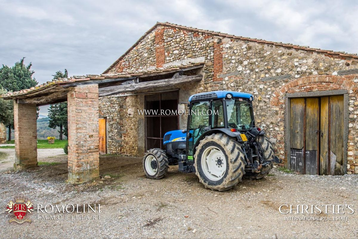 FARM SAN CASCIANO: Farm with Vineyard and Olive grove for sale in Tuscany, Italy, 17km to Florence