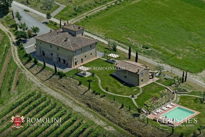 WINE ESTATE, WINERY, VINEYARD FOR SALE IN CHIANTI, FLORENCE, Romolini Christie s