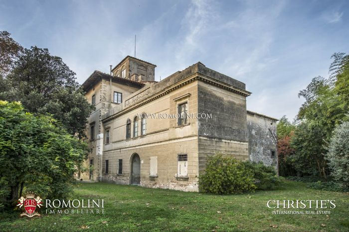 LUXURY HISTORICAL VILLA FOR SALE PISA , TUSCANY
