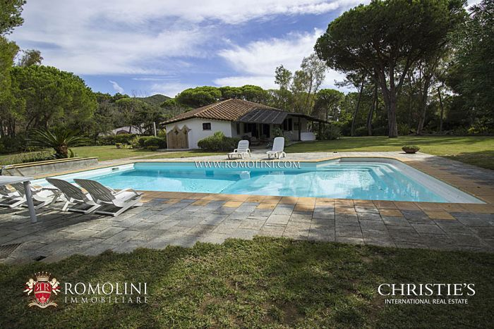 LUXURY VILLAS FOR SALE IN PUNTA ALA , MAREMMA